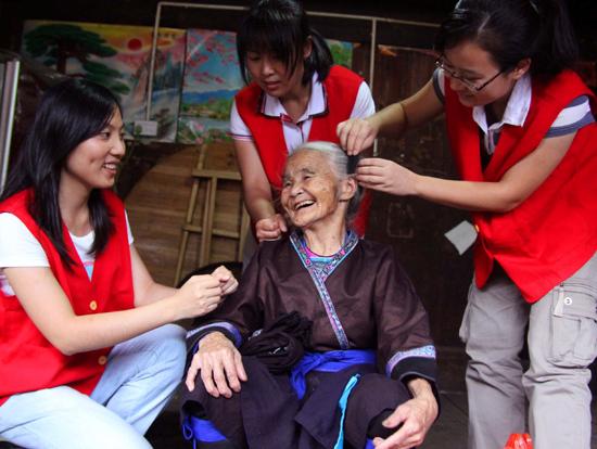 融水县项目办优秀志愿者组织评选材料